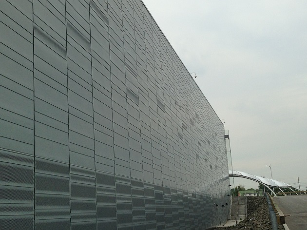 Empire Casino Yonkers NY Zinc Panels